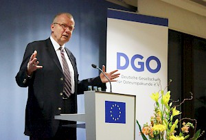 Ruprecht Polenz, President of the DGO